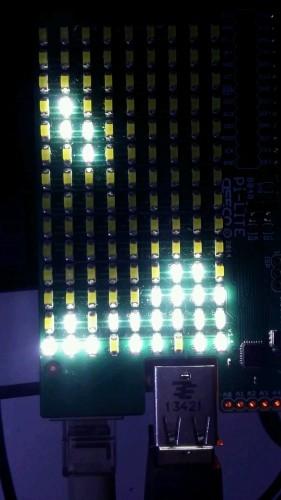 Tetris on LEDs