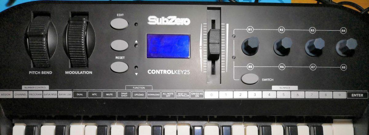 Arduino Midi Keyboard part 5 – the control panel